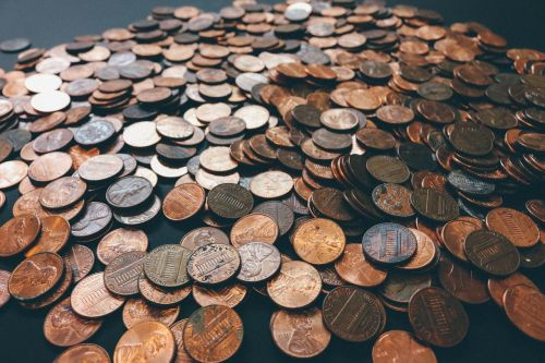 coins pennies money
