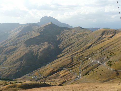 col d'allos mountain alps