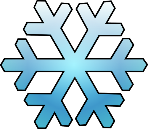 cold snow snowflake