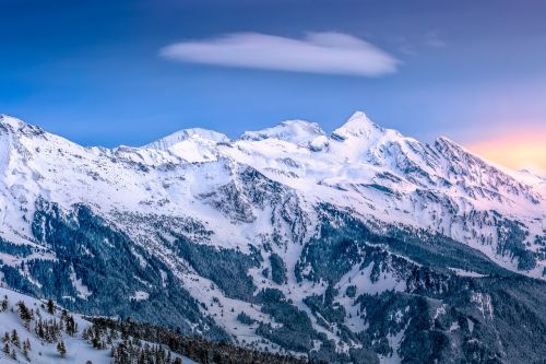 cold landscape mountain