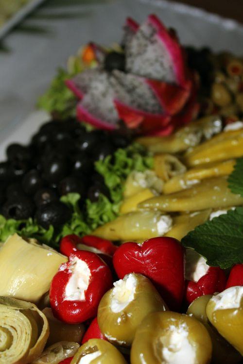cold buffet salad buffet