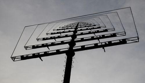 collage billboard loop