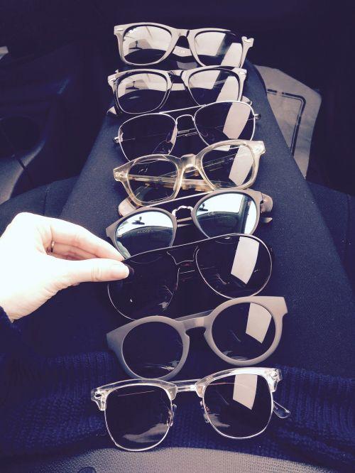 collection glasses sun glasses