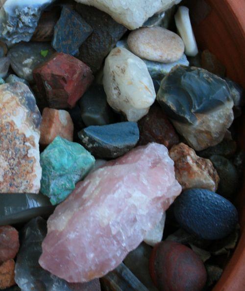 Collection Of Semi-precious Stones