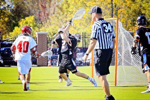 college lacrosse game