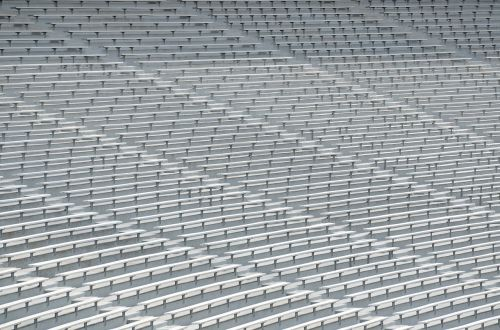 college stadium seats bench seats football