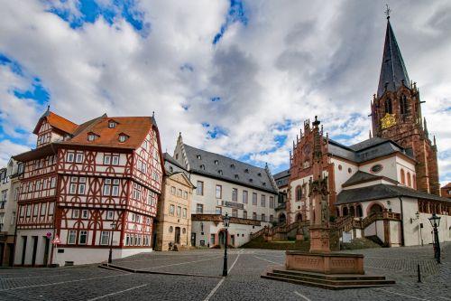 collegiate basilica aschaffenburg lower franconia