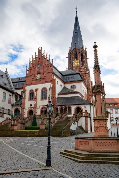 collegiate basilica aschaffenburg lower franconia