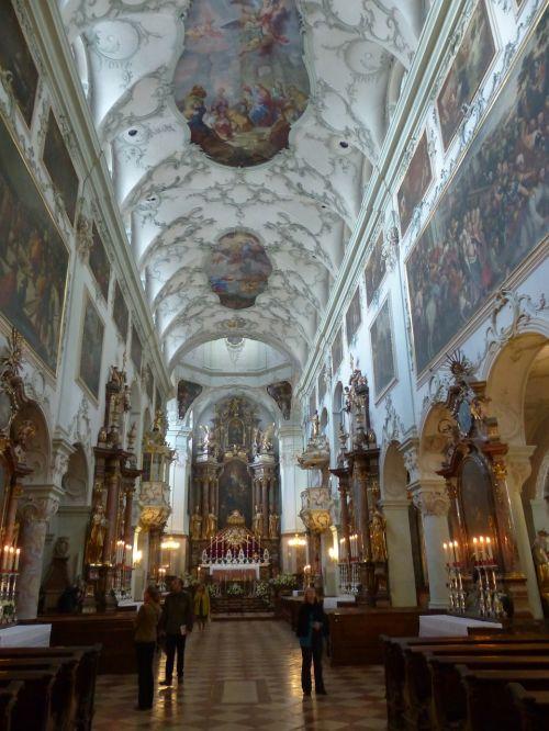 collegiate church of st peter salzburg roman catholic