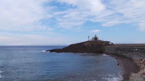 collioure sea sky