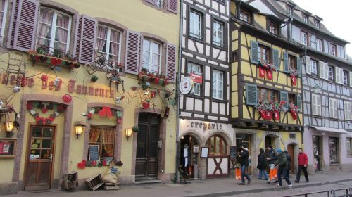 colmar france buildings