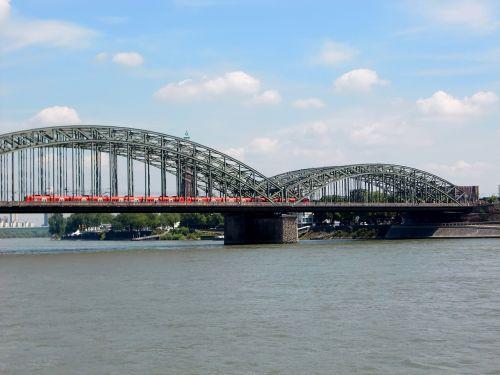 cologne bridge rhine