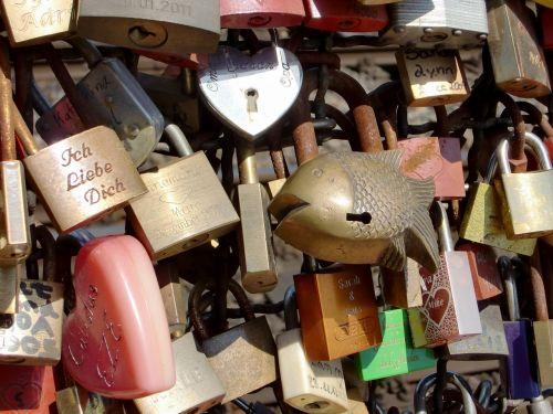 cologne castles padlocks