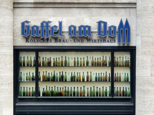 cologne dom bottles
