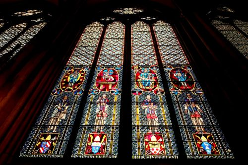 cologne cathedral church window glass