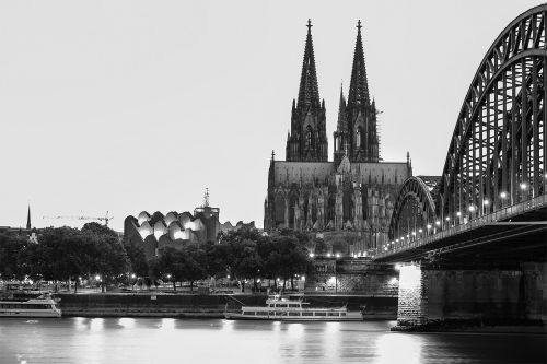 cologne cathedral rhine cologne