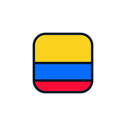 colombia  colombia icon  colombia flag