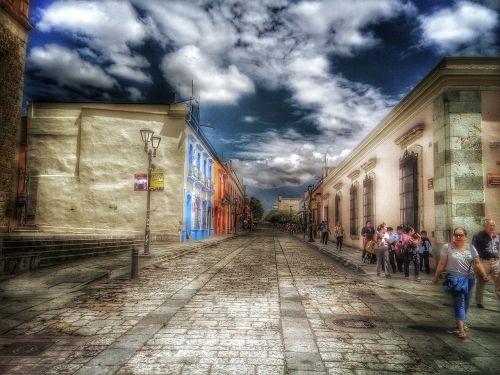 colonial oaxaca historic centre
