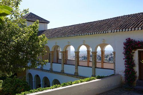 colonnade palace facade