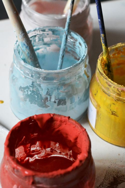 color tooth enamel painting
