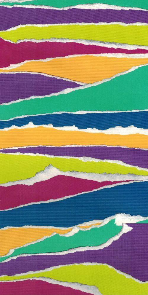 color paper tear