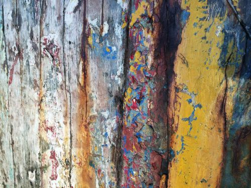 color wood old paint