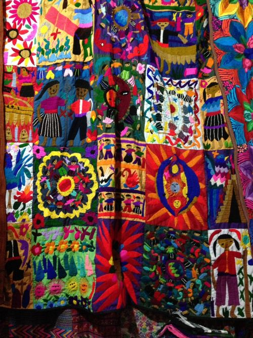 color cloth embroidery