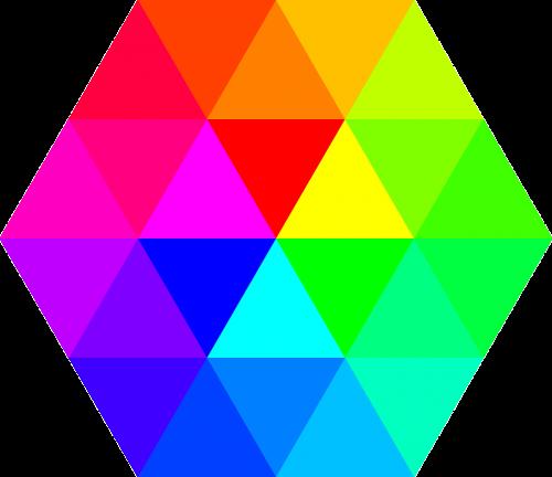 color hexagon color palette