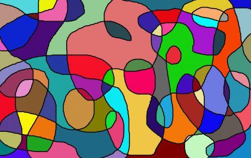 color blending chaos
