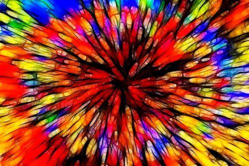 color batik explosion