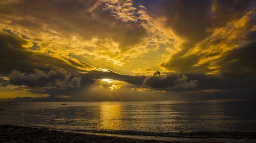 color abendstimmung sunset