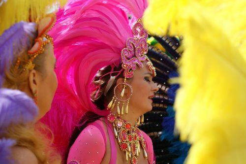 color carnival colorful
