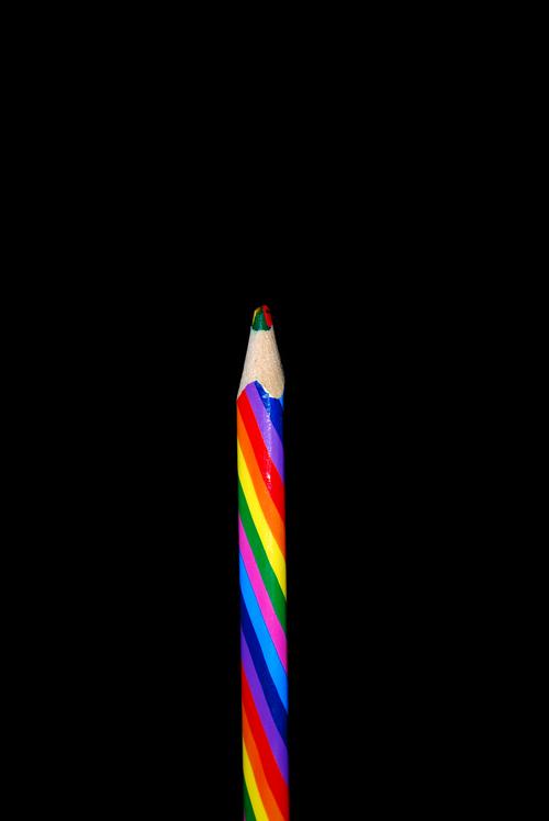 color  pen  rainbow colors