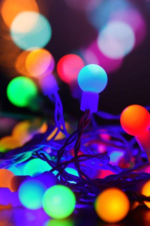 color  light bulbs  light
