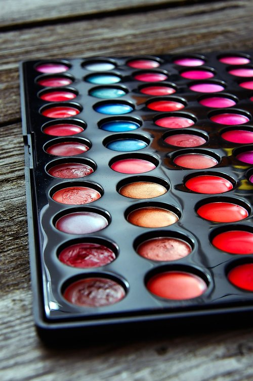 color  makeup  woman