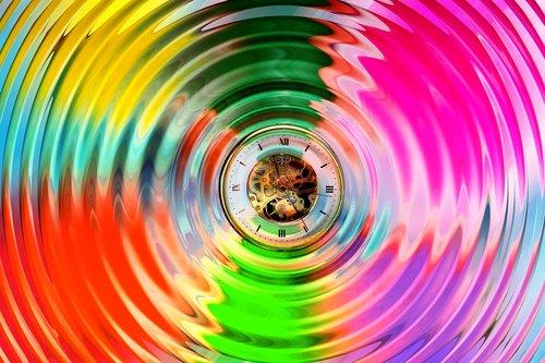 color  circle  wave