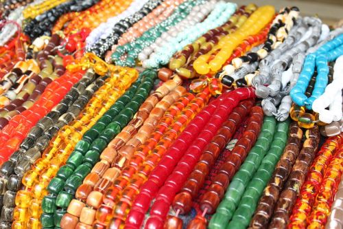 color beads colorful