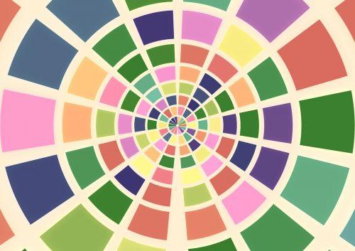 color hue circles