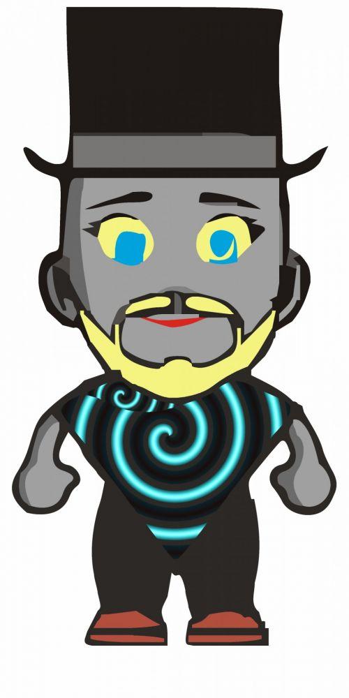 Color Avatar Icon Male