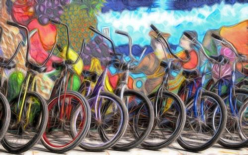 Color Bikes For Rent