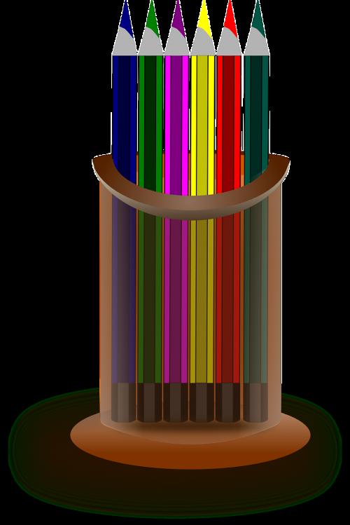 color crayons color pencils pencils