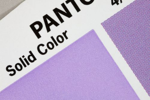 color fan pantone printing inks