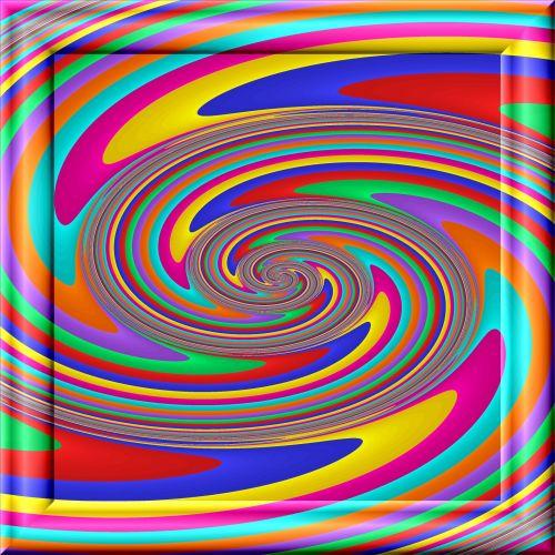 Color Fractal Vortex