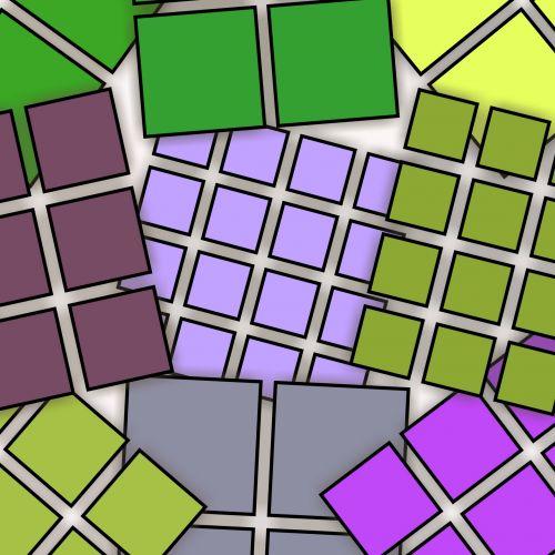 Color Geometric Polygons