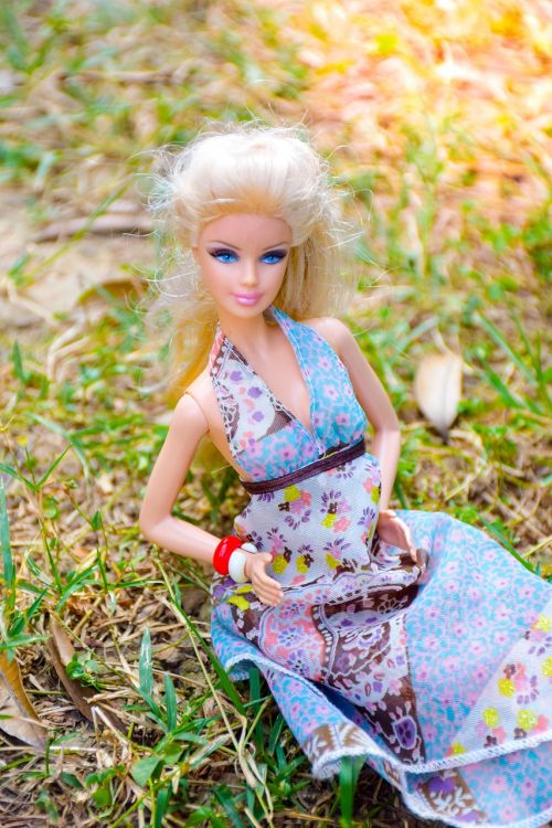color image blonde beauty girl