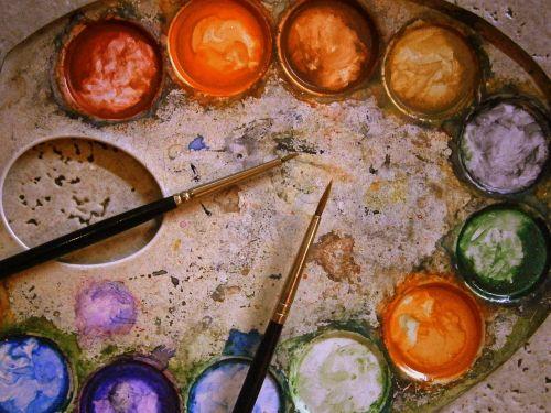 color palette range metal