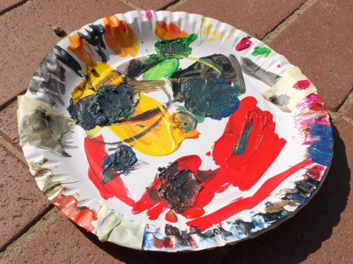 color palette,paper plate,color,mix,colorful,paint,painting,art,design,color mixing