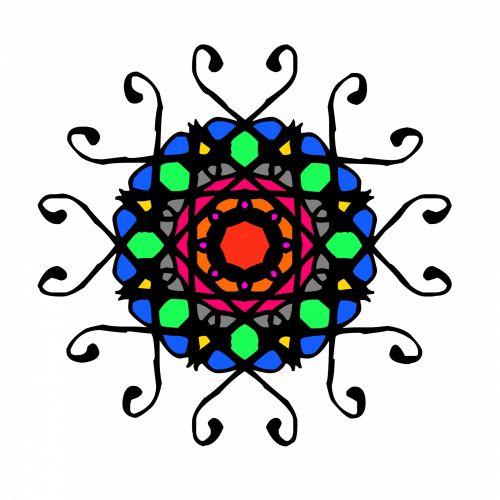 Color Rosette 1