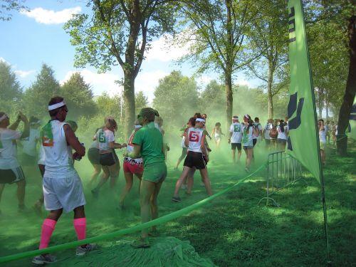 color run running sports
