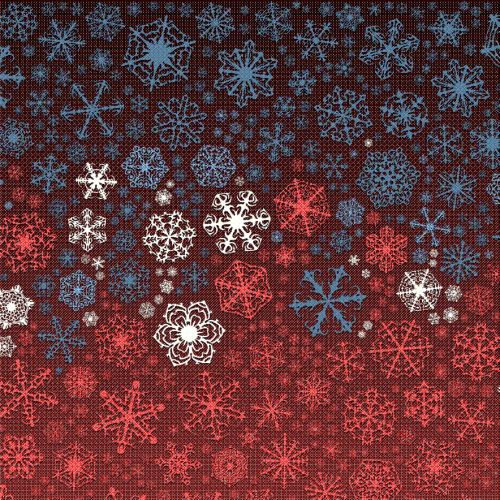 Color Snowflakes